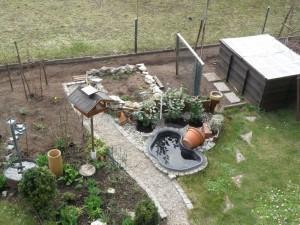 Garten März 2011