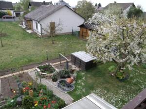 Garten April 2011