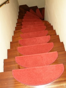 Die  neuen Treppen-Teppiche