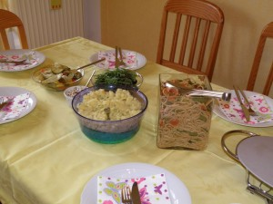 Kartoffelsalat, Asiatischer Nudelsalat