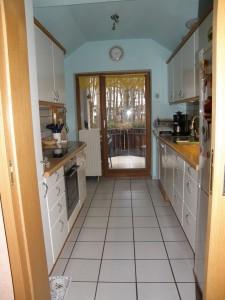 Küche vom Flur aus