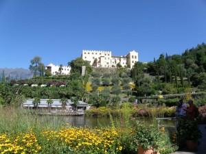 Gärten von Schloss Trauttmansdorf bei Meran