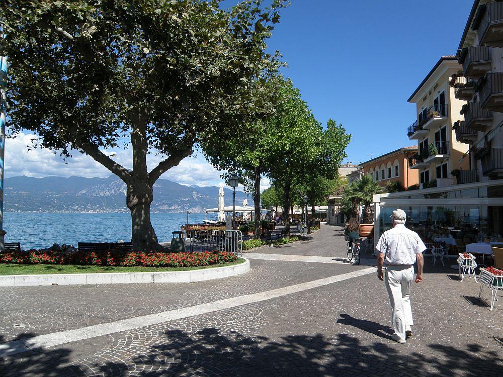 Promenade von Torri del Benaco