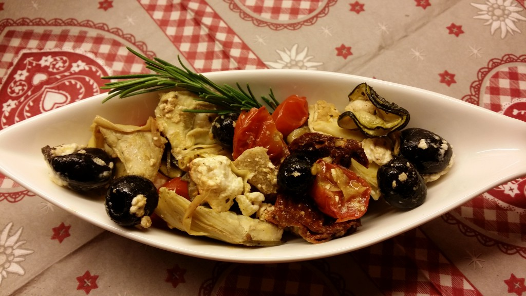 Oliven-Antipasti