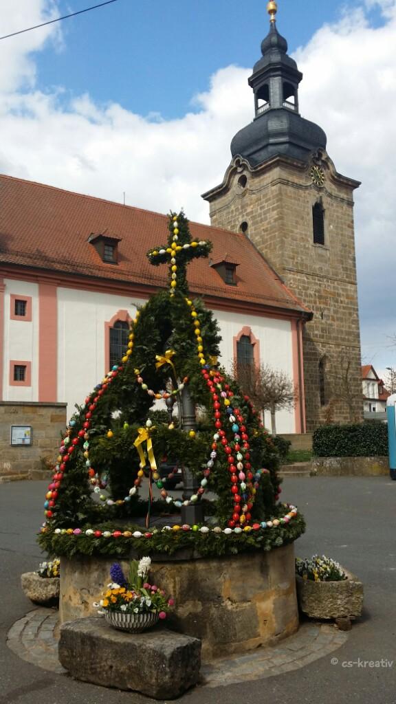Osterbrunnen in Kersbach
