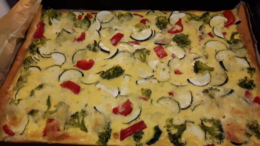Gemüsekuchen